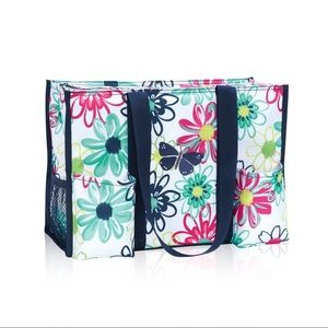 Thirty One Zip Top Organizing Utility Tote